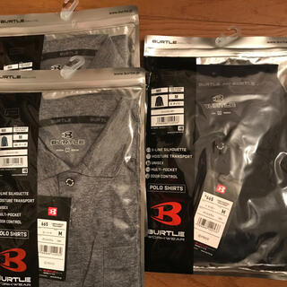 バートル(BURTLE)のバートルの長袖ポロシャツ3枚 (ポロシャツ)