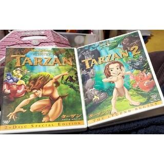 Disney - ディズニー DVD ターザン2部作