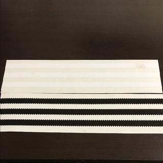 adidas - (縦6cm横23cm) adidas SB ステッカー ホワイト1枚