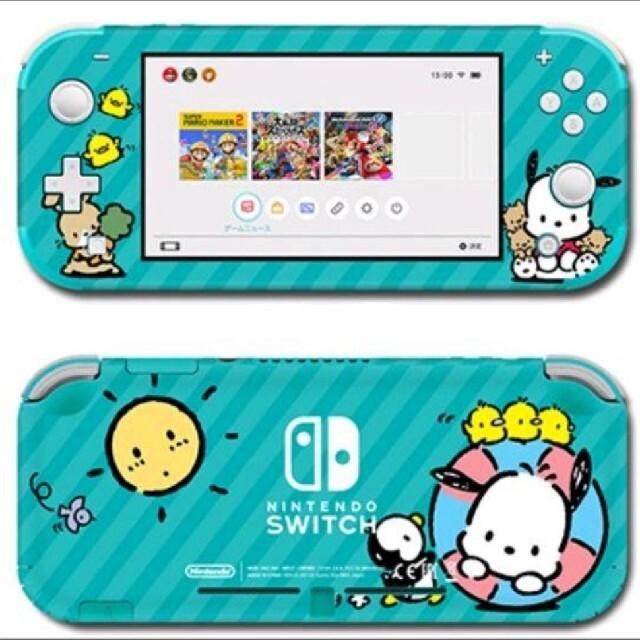 Nintendo Switch(ニンテンドースイッチ)のポチャッコ ニンテンドースイッチライトスキンシール#71 任天堂Switch エンタメ/ホビーのゲームソフト/ゲーム機本体(携帯用ゲームソフト)の商品写真