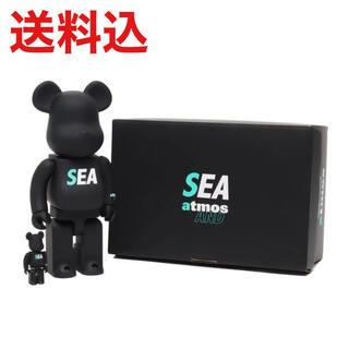 アトモス(atmos)のBE@RBRICK atmos × WIND AND SEA 400%100%(その他)