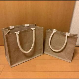 MUJI (無印良品) - 新品未使用 無印良品 エコバッグ ジュートマイバッグ A4サイズ B5サイズ