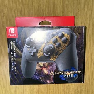 NintendoSwitch Proコントローラー モンハンライズ