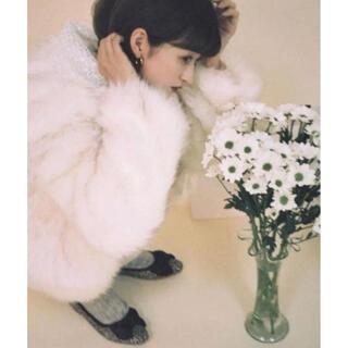 Bibiy. fur lace collar coat