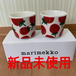 marimekko - マリメッコ ラテマグ マンシッカ 2個