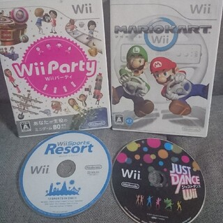 Wii - wiiソフト4本セット