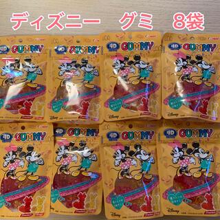 Disney - ディズニーキャラクター  4Dグミ  8袋