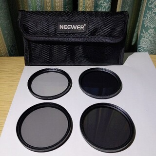 NEEWER NDフィルター 58mm 4枚組(フィルター)