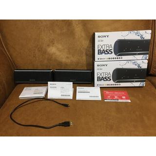 SONY - 美品 2個セット SONY ワイヤレスポータブルスピーカー SRS-XB21