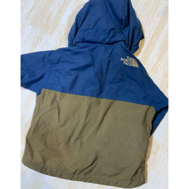 THE NORTH FACE(ザノースフェイス)のノースフェイス ノースフェイスベビー キッズ コンパクトジャケット 90   キッズ/ベビー/マタニティのキッズ服男の子用(90cm~)(ジャケット/上着)の商品写真