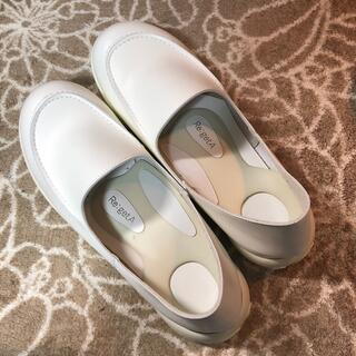 リゲッタ(Re:getA)のリゲッタ ワークシューズ ナースシューズ LL 大きいサイズ ローファー 日本製(ローファー/革靴)