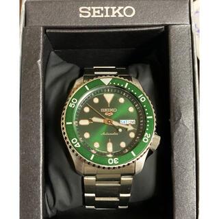 セイコー(SEIKO)のSEIKO 5 Sports 腕時計 セイコー メンズグリーン SBSA013(腕時計(アナログ))