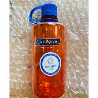 ナルゲン(Nalgene)のナルゲン ナローマウスボトル 1ℓ オレンジ 新品未使用(登山用品)