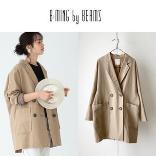 B:MING LIFE STORE by BEAMS - 20SS B:MING BEAMS 綿麻ジャケット NIMES アダムエロペ
