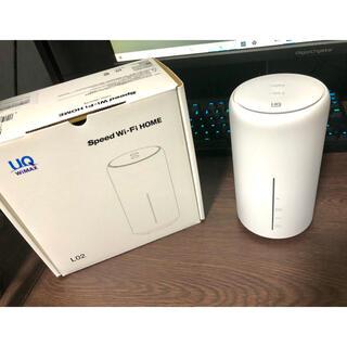 ファーウェイ(HUAWEI)のSpeed Wi-Fi Home L02 UQ WiMAX(PC周辺機器)