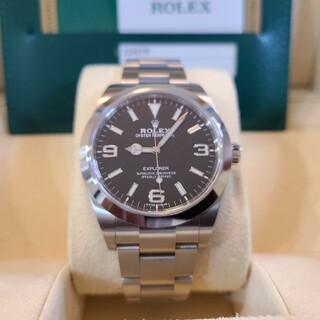 ROLEX - 【2019年2月印】ロレックス エクスプローラー 214270 後期 国内正規品