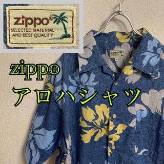 ジッポー(ZIPPO)のzippo アロハシャツ ハワイアンシャツ 総柄シャツ ハイビスカス柄(シャツ)