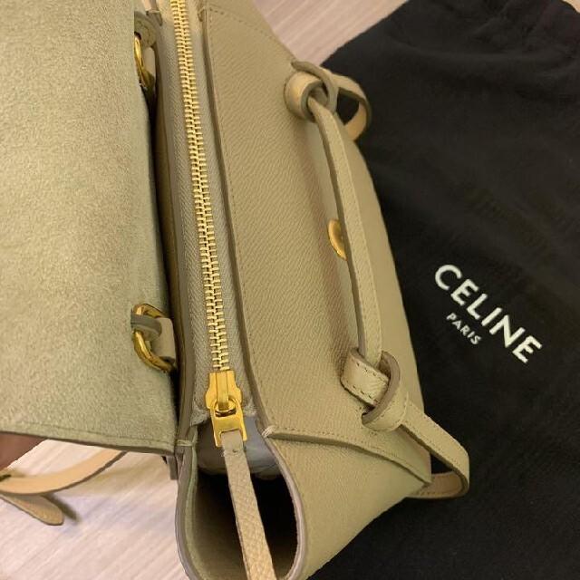 celine(セリーヌ)のCELINE セリーヌ ベルトバッグ ナノ レディースのバッグ(ハンドバッグ)の商品写真