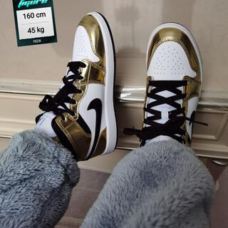 ナイキ(NIKE)のAir Jordan 1 Mid SE 'Metallic Gold'(スニーカー)