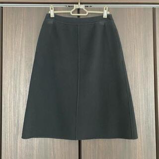 ADORE - アドーア ウール スカート フレアスカート 膝丈スカート