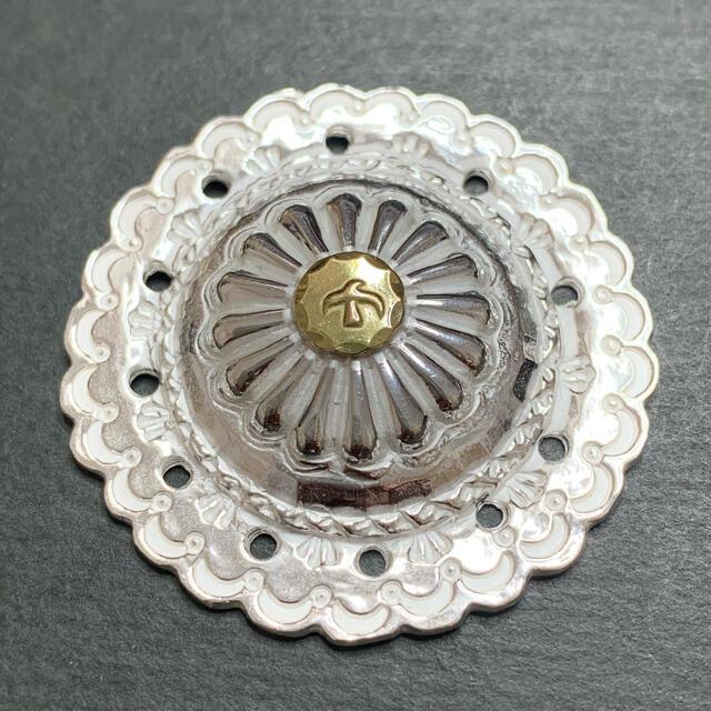 goro's(ゴローズ)の18kメタルフラワーコンチョ メンズのファッション小物(長財布)の商品写真