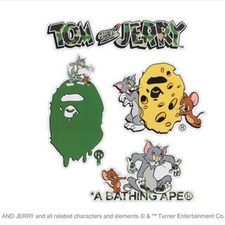 A BATHING APE - BAPE【 BAPE X TOM AND JERRY 】STICKER SET