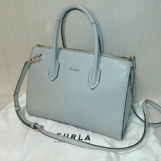 Furla - 【美品 お値引き可】Furla Pin Mサッチェル2wayバッグ フルラ