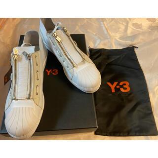 Y-3 - y-3 スーパージップ adidas 白 28.5cm