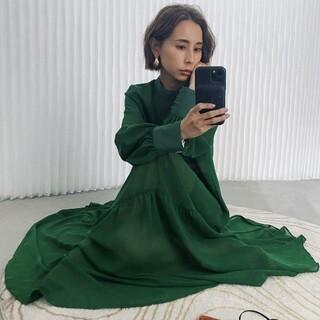 Ameri VINTAGE - アメリヴィンテージ ハイネックドレス ワンピース