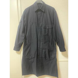 Yohji Yamamoto - 試着のみ未使用 ヨウジヤマモトプールオム 20ss ビックポケットロングシャツ