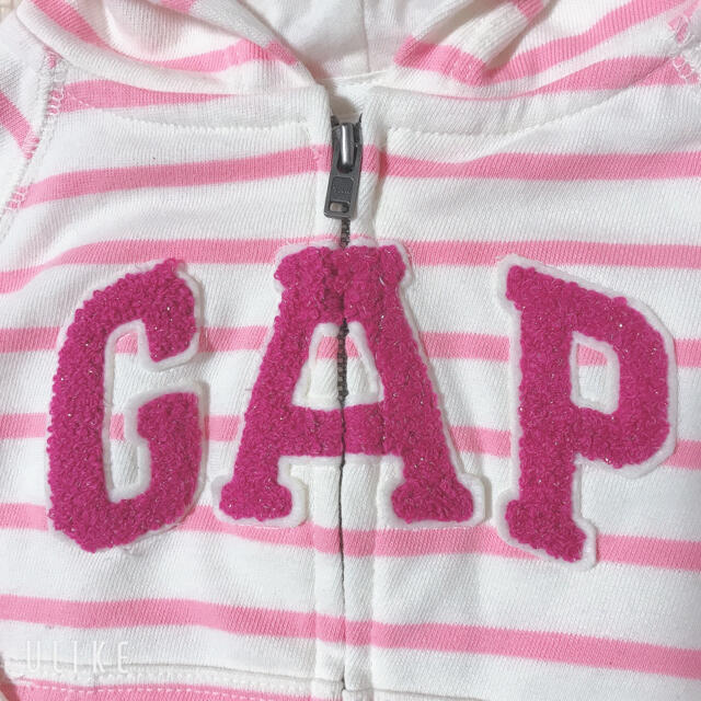 babyGAP(ベビーギャップ)の最終値下げ!babyGAP パーカー 80cm 未使用 キッズ/ベビー/マタニティのベビー服(~85cm)(トレーナー)の商品写真