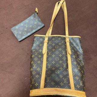 LOUIS VUITTON - LOUIS VUITTON バケツ型トート