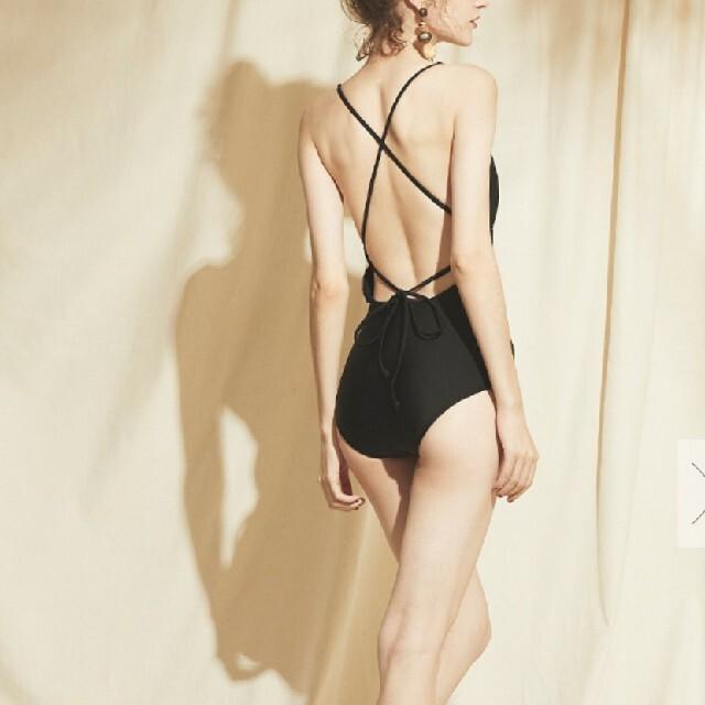 ALEXIA STAM(アリシアスタン)の新品タグ付き!!sea dress バックオープンクロスワンピース レディースの水着/浴衣(水着)の商品写真