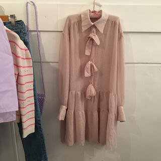 SEE BY CHLOE - See by Chloé ribbon onepiece.