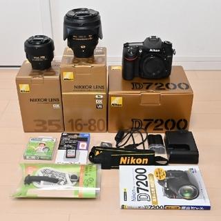 Nikon - ニコン D7200セット[バラ売り無し]