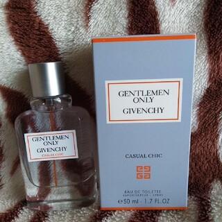 ジバンシィ(GIVENCHY)のGIVENCHY♥ジェントルマン オンリー♥カジュアルシック50ml(香水(男性用))