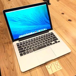 Mac (Apple) - i7 16G MacBook pro retina 13インチ Late2013