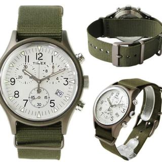タイメックス(TIMEX)の新品未使用約2万タイメックス TIMEX 腕時計 MK1 アルミニウム クロノ(腕時計(アナログ))