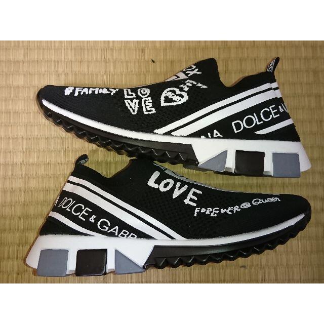 dude9系 スニーカー 黒 ブラック メンズの靴/シューズ(スニーカー)の商品写真