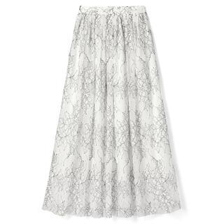 GRL - フラワーレースギャザースカート