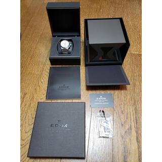 エドックス(EDOX)のEDOX(エドックス)腕時計 10108 3BU AINデルフィンクロノグラフ(腕時計(アナログ))
