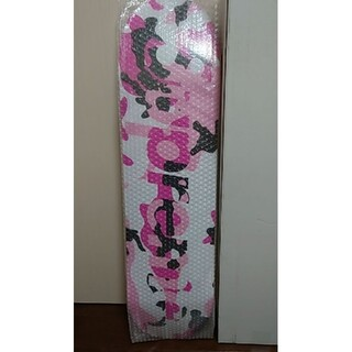 Supreme - SUPREME Camo Logo Skateboard ピンク スケボー
