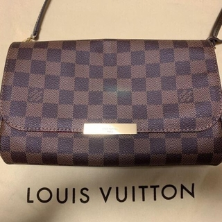 LOUIS VUITTON - 【美品】ルイヴィトン ダミエ フェイボリット MM