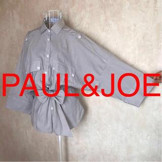 PAUL & JOE - ★PAUL&JOE/ポール&ジョー★極美品★七分袖ブラウス2(M.9号)