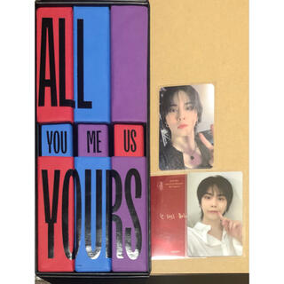 ASTRO アルバム All Yours スリーブ