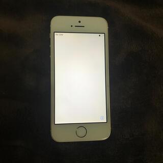 iPhone - iPhone se 第一世代 ゴールド 64gb SIMフリー ジャンク