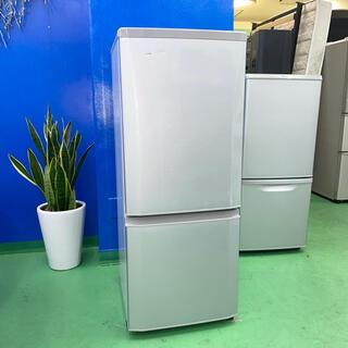ミツビシ(三菱)の⭐️MITSUBISHI⭐️冷凍冷蔵庫 2016年 146L 大阪市近郊配送無料(冷蔵庫)