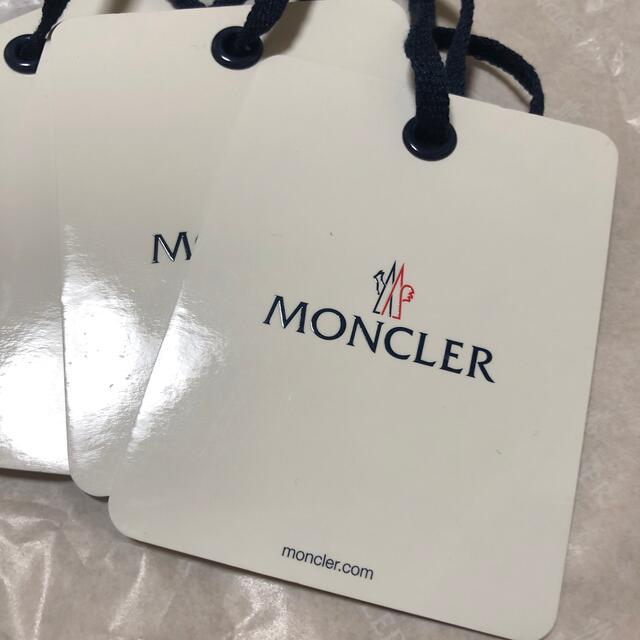 MONCLER(モンクレール)のモンクレール タグ フラグメント メンズのファッション小物(その他)の商品写真