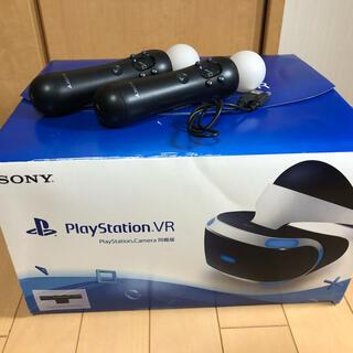 PlayStation VR - 【中古】PS4ハード PS VR Camera同梱 move2本付きイヤホン欠品