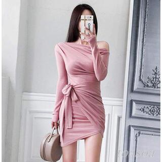 【本日限定セール】Radyジャンル♡韓国ファッション オフショルダーキャバドレス